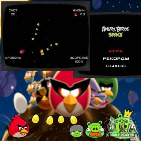 Angry Birds Space v1.0 para GTA San Andreas