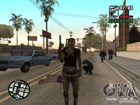 Zombe from Gothic para GTA San Andreas segunda tela