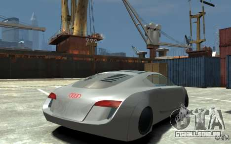 Audi RSQ Concept para GTA 4 vista direita