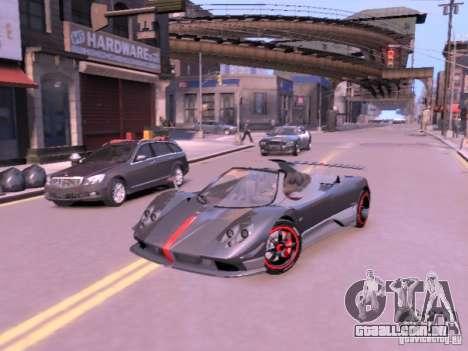 Pagani Zonda Cinque Roadster v 2.0 para GTA 4