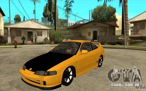 Honda Integra Spoon Version para GTA San Andreas