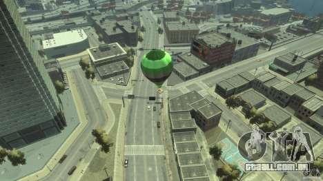 Balloon Tours option 3 para GTA 4 traseira esquerda vista
