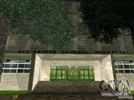 Novo Hospital-novo hospital para GTA San Andreas