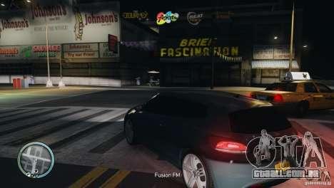 Coloured Radio HUD para GTA 4 quinto tela