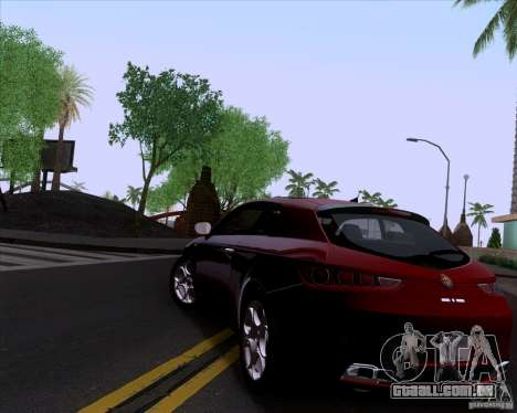 Alfa Romeo Brera para GTA San Andreas vista direita