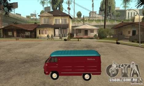 762 YERAZ em para GTA San Andreas esquerda vista