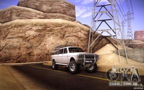 GAZ 2402 4 x 4 PickUp para GTA San Andreas vista superior