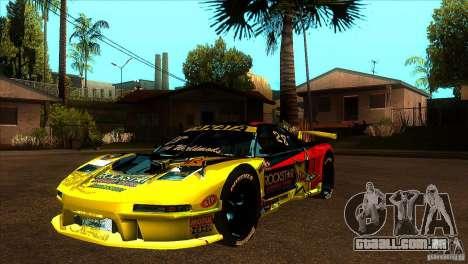 Honda NSX Extreme para o motor de GTA San Andreas
