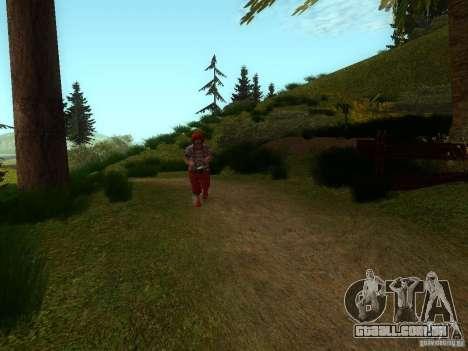 Crazy Clown para GTA San Andreas terceira tela
