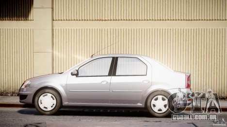 Dacia Logan v1.0 para GTA 4 esquerda vista