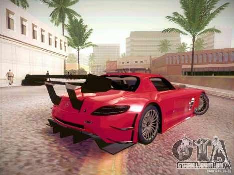 Mercedes-Benz SLS AMG GT-R para GTA San Andreas vista direita