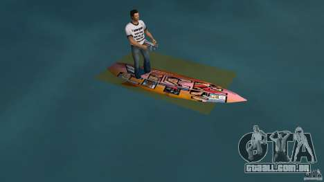 Surfboard 1 para GTA Vice City deixou vista