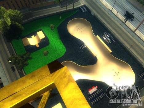 New BMX Park para GTA San Andreas segunda tela