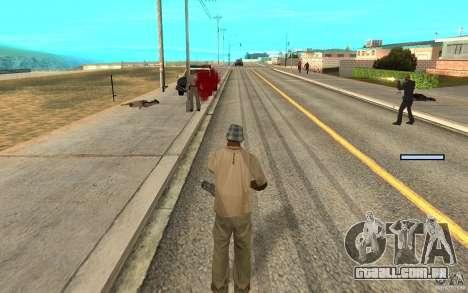 Proteção para o Cj para GTA San Andreas quinto tela