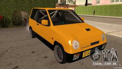 Suzuki Alto Euro para GTA San Andreas vista traseira