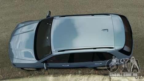 BMW X5 xDrive30i para GTA 4 vista direita