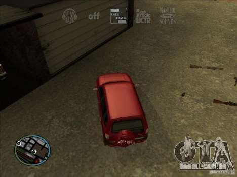RADIO HUD IV 3.0 para GTA San Andreas terceira tela