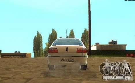 Opel Omega B 1997 para GTA San Andreas vista direita