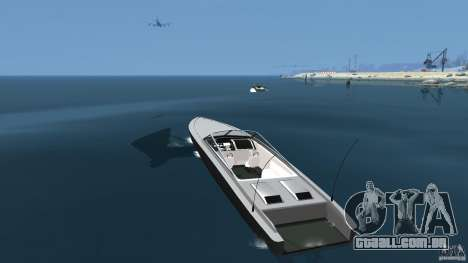 Novo Jetmax para GTA 4 traseira esquerda vista