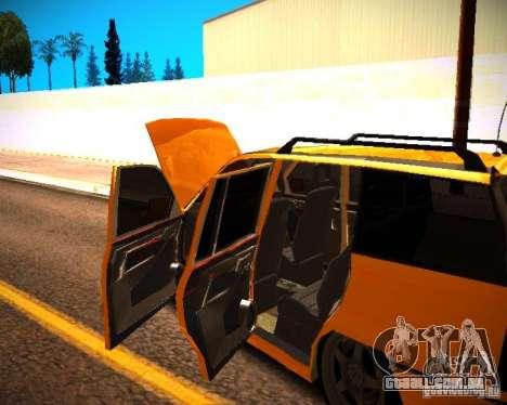 Opel Astra GSI Caravan para GTA San Andreas vista interior