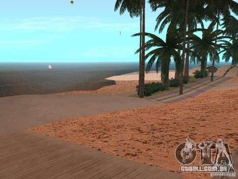 Praia de HQ v 1.0 para GTA San Andreas segunda tela