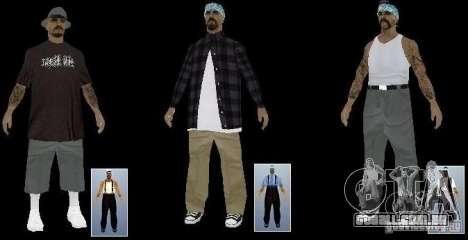Nova gangue a Rifa de peles para GTA San Andreas