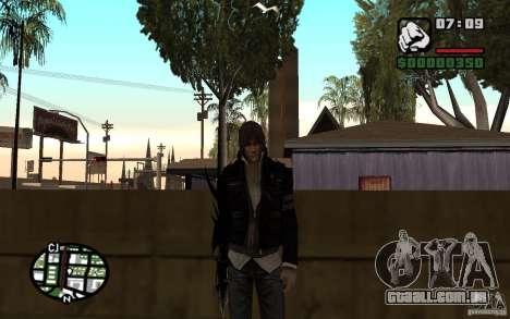 Alex Mercer para GTA San Andreas segunda tela