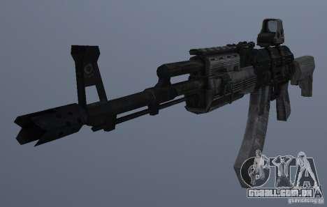 AK47+Holographic sight para GTA San Andreas terceira tela