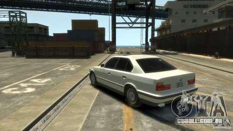 BMW 525i para GTA 4 esquerda vista