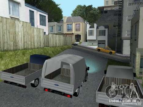Ford Transit 2005 para GTA San Andreas esquerda vista