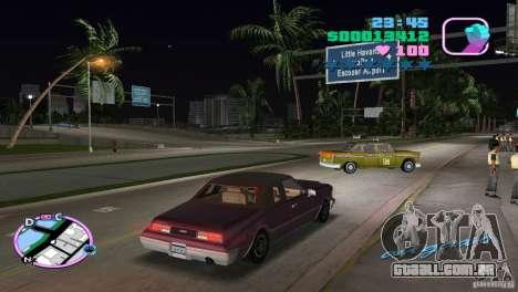 Idaho HD para GTA Vice City vista traseira esquerda