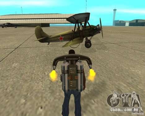 Na-2 para GTA San Andreas vista traseira