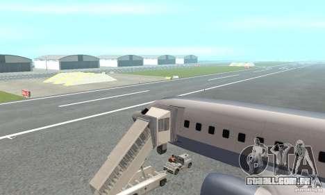 Airport Vehicle para GTA San Andreas quinto tela