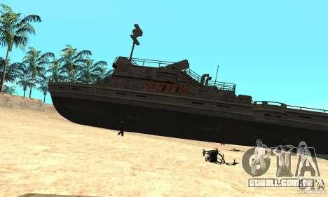 Barco para GTA San Andreas esquerda vista
