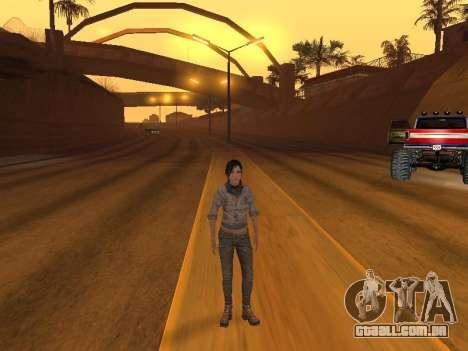 FaryCry 3 Liza Snow para GTA San Andreas terceira tela