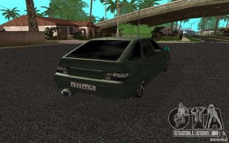 VAZ-2112, v. 2 para GTA San Andreas esquerda vista