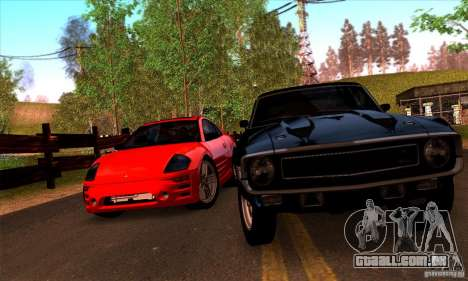 SA gline v4.0 Screen Edition para GTA San Andreas sexta tela