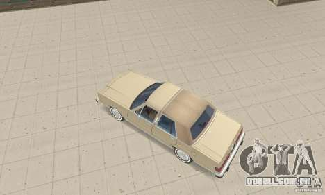 Mercury Grand Marquis LS 1986 para GTA San Andreas traseira esquerda vista
