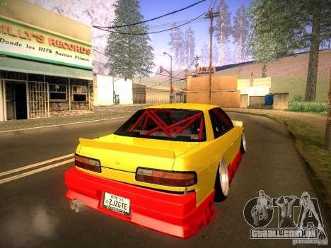 Nissan Onevia 2JZ para GTA San Andreas esquerda vista