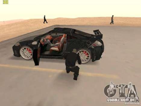 Mitsubishi Eclipse GT NFS-MW para GTA San Andreas vista interior