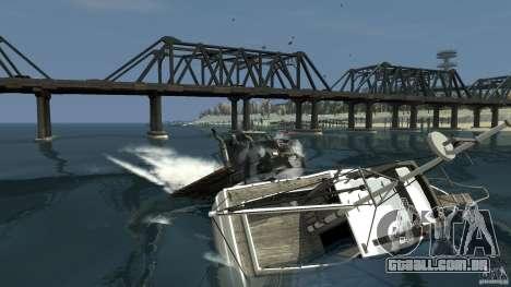 Biff boat para GTA 4 esquerda vista