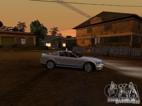Ford Mustang GT para GTA San Andreas vista superior