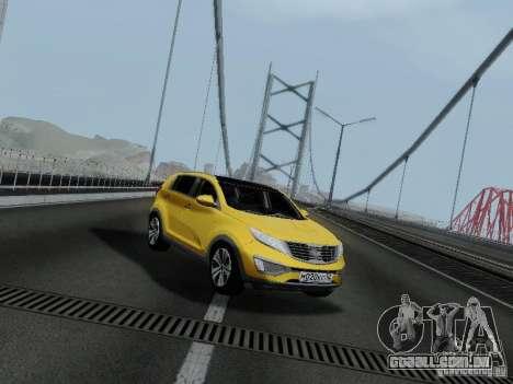 KIA Sportage para GTA San Andreas