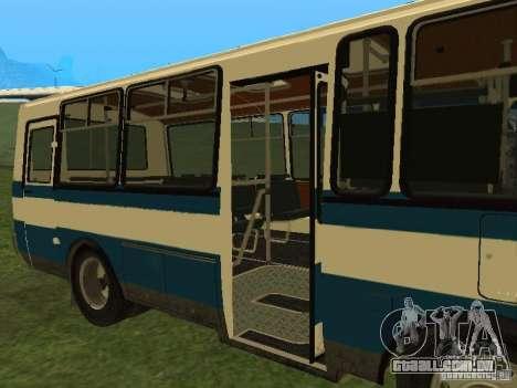 SULCO 32053 para GTA San Andreas vista traseira