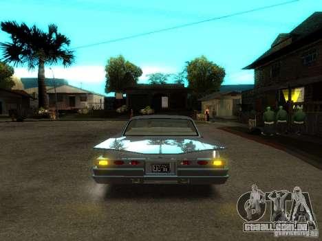 Vodu no GTA IV para GTA San Andreas vista interior