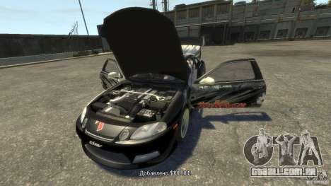 Toyota Soarer Tokage Crew para GTA 4 vista direita
