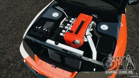 Nissan Skyline GT-R (R33) v1.0 para GTA 4 vista superior