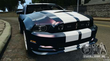 Ford Mustang 2013 Police Edition [ELS] para GTA 4
