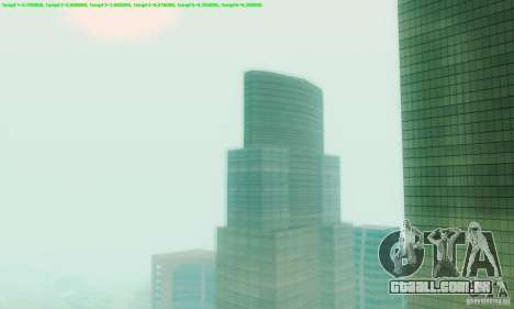 Marty McFly ENB 2.0 California Sun para GTA San Andreas segunda tela