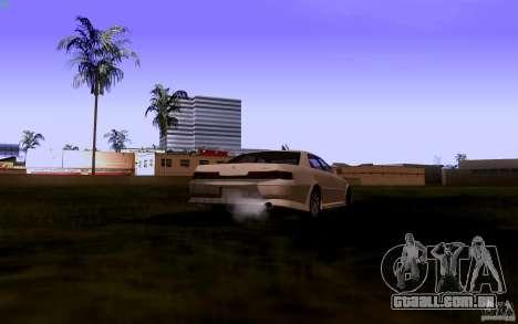Toyota Mark 2 JZX100 para GTA San Andreas vista traseira